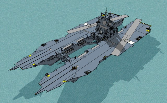 Aircraft Carrier Hull Design - Bing images
