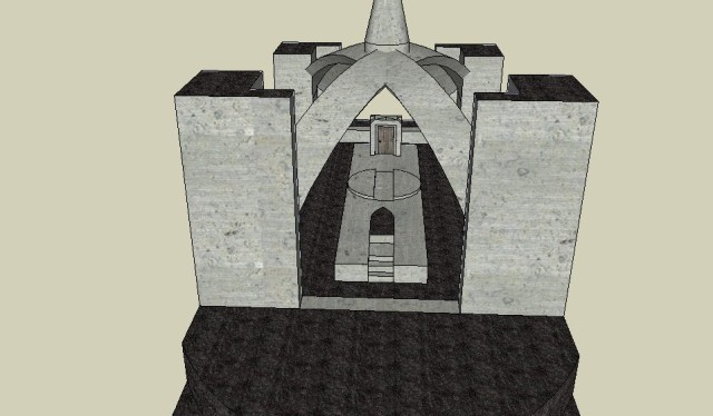Castle Ice two towers altar 3