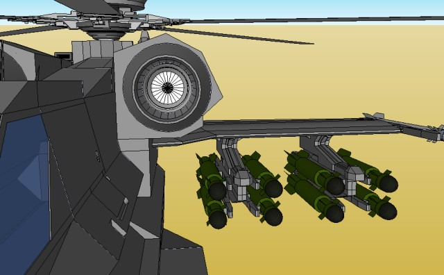 Helicopter engine intakes 2