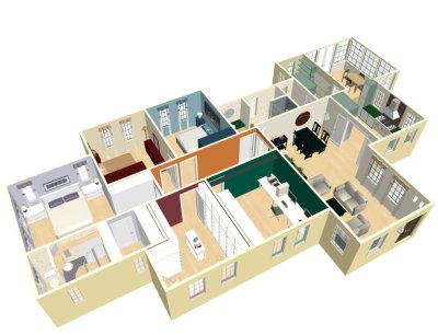 Do it yourself layout once you have your lego blocks ready its all about the layout and flow of the house naturally you wouldnt want to put the living room and kitchen on solutioingenieria Gallery