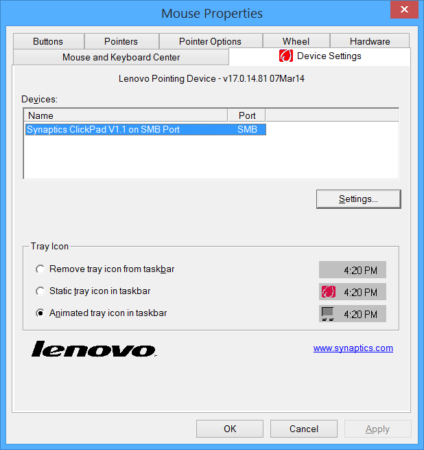 Right-click problem on Lenovo touchpads - How to fix
