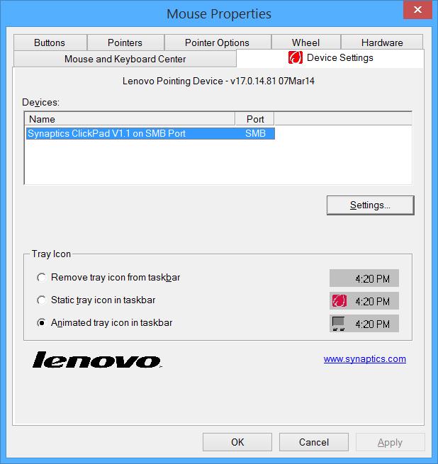 Lenovo Pointing Device скачать драйвер - фото 10