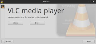 Linux per-application firewalls - Doable? Douane