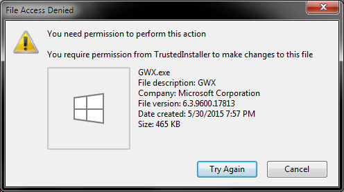 How to remove the Windows 10 GWX upgrade nonsense