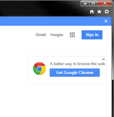 Chrome marketing