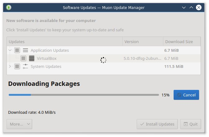 Downloading updates