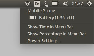 Battery usage, more