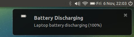 Battery prompt