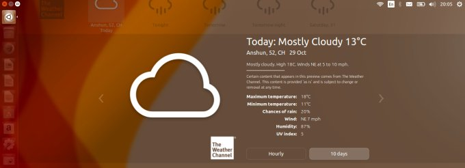 Weather applet, annoying