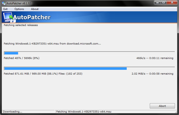 Nikul padhya: autopatcher keeps windows 7 systems up to date [updates].