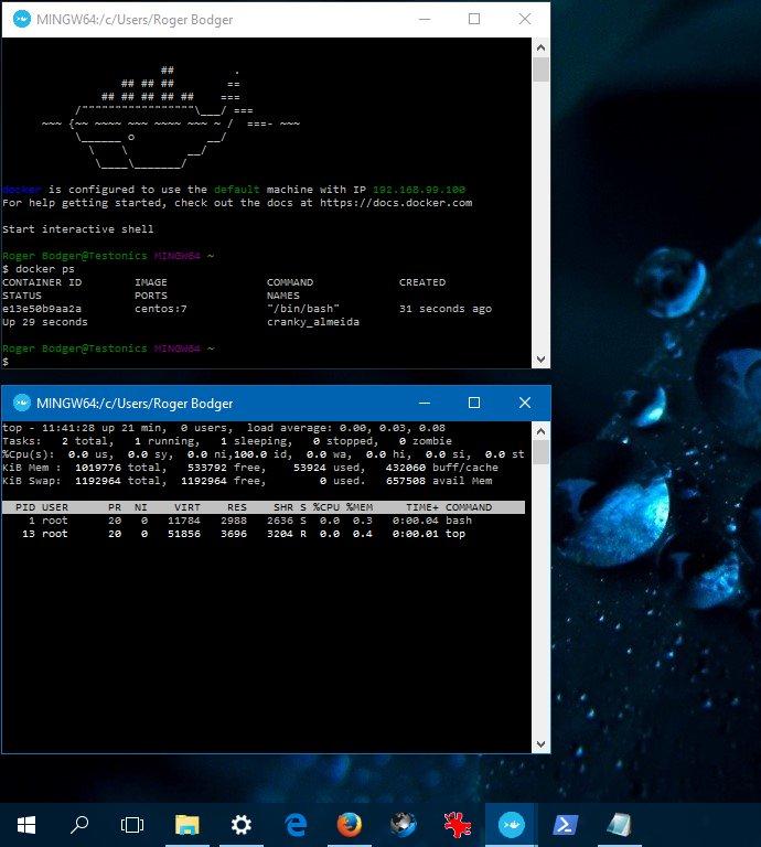Docker on Windows 10 - Introduction guide