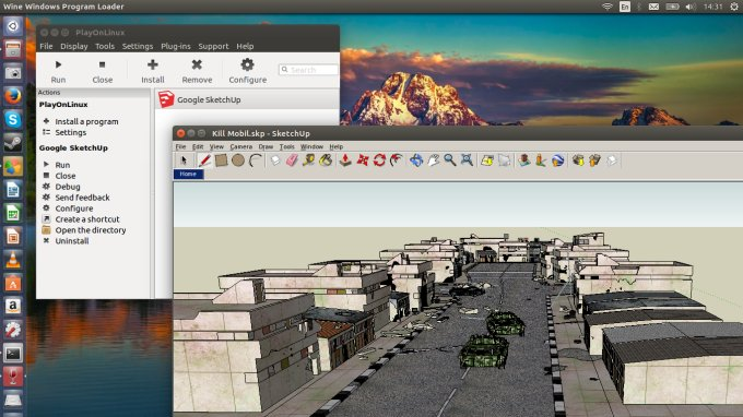 Sketchup Running On Ubuntu Tutorial