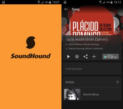SoundHound - Music search galore?