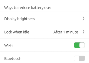 Battery, more