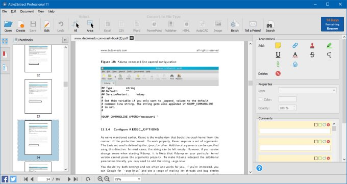 Able2Extract PDF Converter 11 review