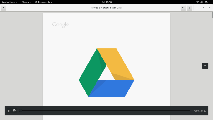 Docs from Google Drive