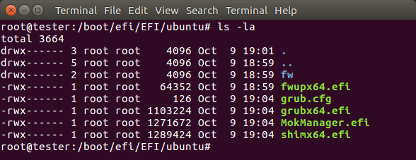 how to create efi partition linux