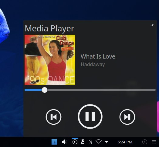 Media player, system area