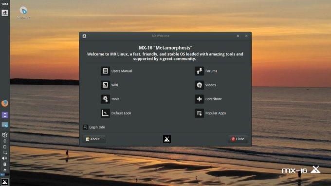 MX Linux MX-16 Metamorphosis - Winds of change