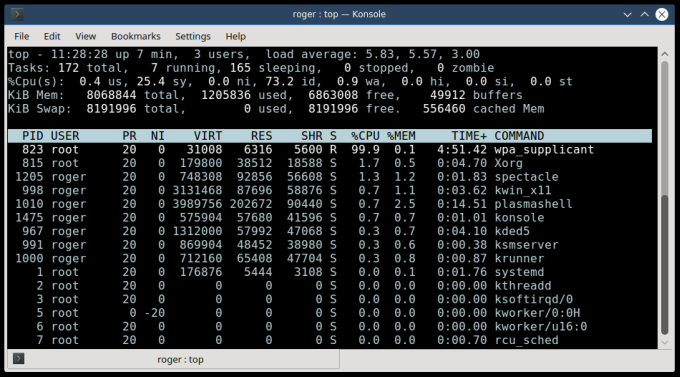 WPA supplicant, high CPU usage