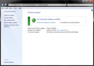 convenience rollup update for windows 7 sp1
