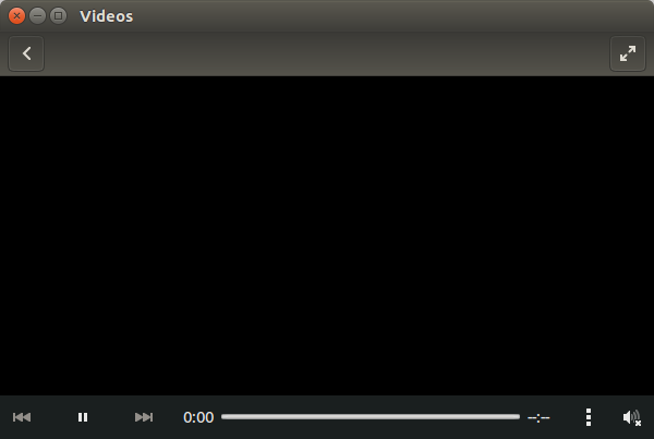 Media player does not search for codecs