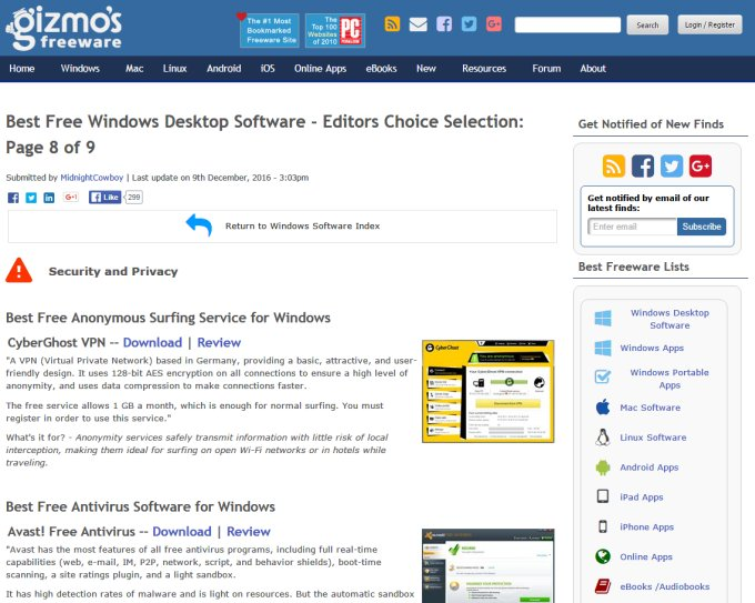 Gizmos Freeware Reviews Gizmos Freeware Find The Best ...