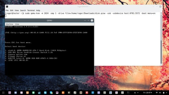 How to write ISO image to USB drive in Linux - Tutorial
