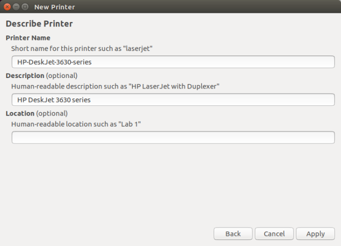Linux, Wireless printing, scanning and HPLIP