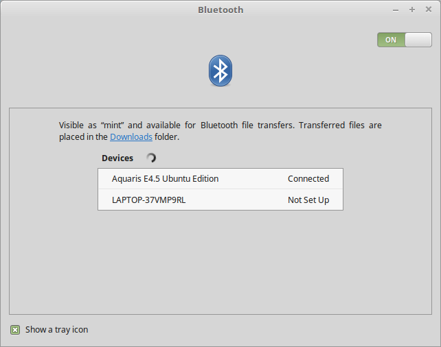 Bluetooth works