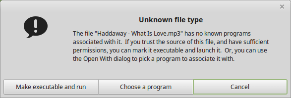 MP3, unrecognized type