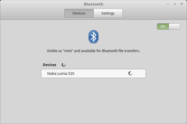 Bluetooth device scan