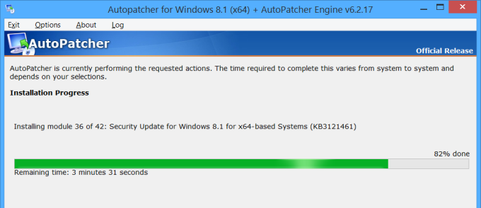Autopatcher downloading updates