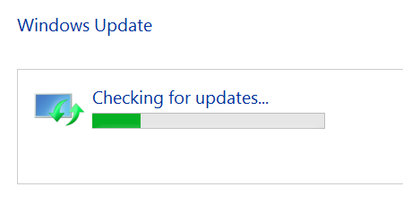 Windows 8 1 gets stuck searching for updates