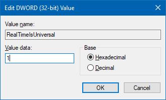 Fix Windows 10 time sync offset - Tutorial