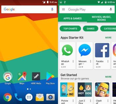 Aquaris E4 5 Ubuntu Phone - With Android