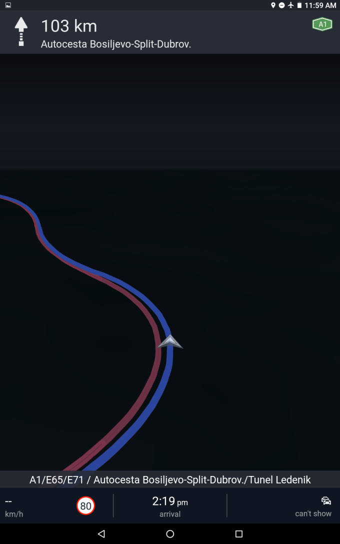 Windows Phone navigation - Road test
