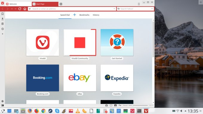 Chrome vs Vivaldi - Raw elements