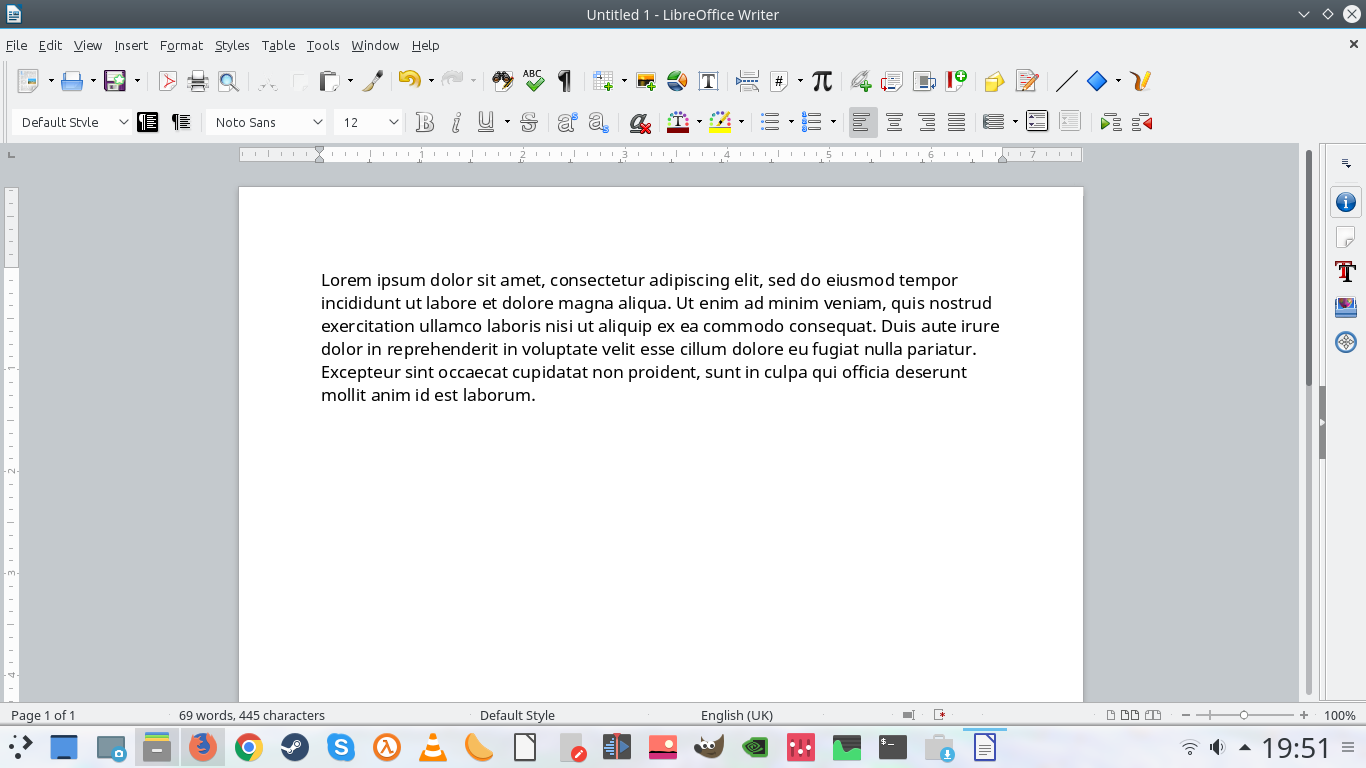Improve LibreOffice interface fonts in KDE