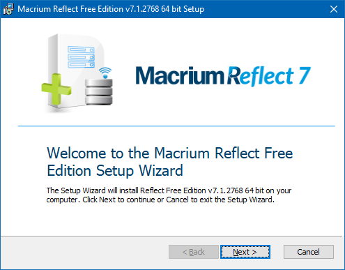 macrium reflect download size