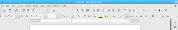 Fonts, LO menus