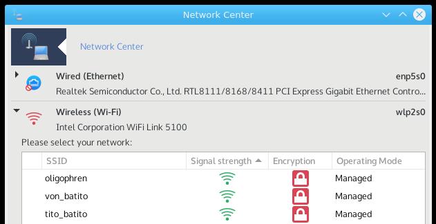 Network center