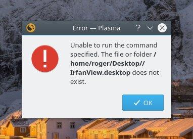 Plasma secrets: Custom app launchers - WINE, too
