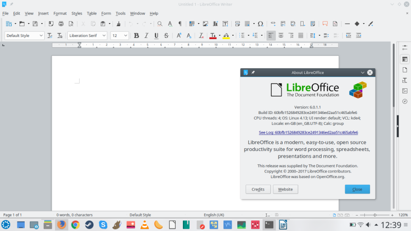 LibreOffice 6 0 - Goodness, Gracious, Great Fonts of Fire!