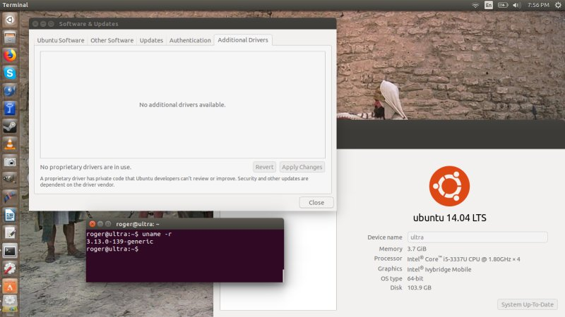 Patches installed in Ubuntu