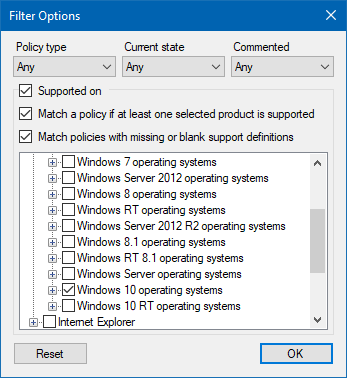 Windows 10 - No group policy editor? Policy Plus!