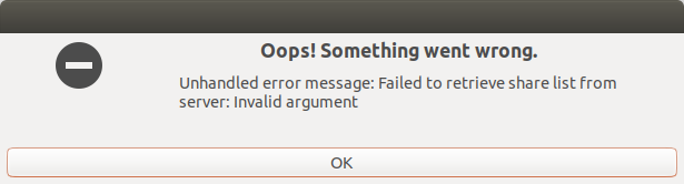 Ubuntu, Samba does not work