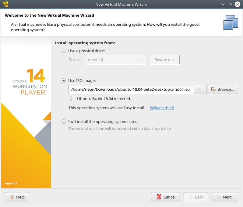 VMware Player 14 review - Alternate reality