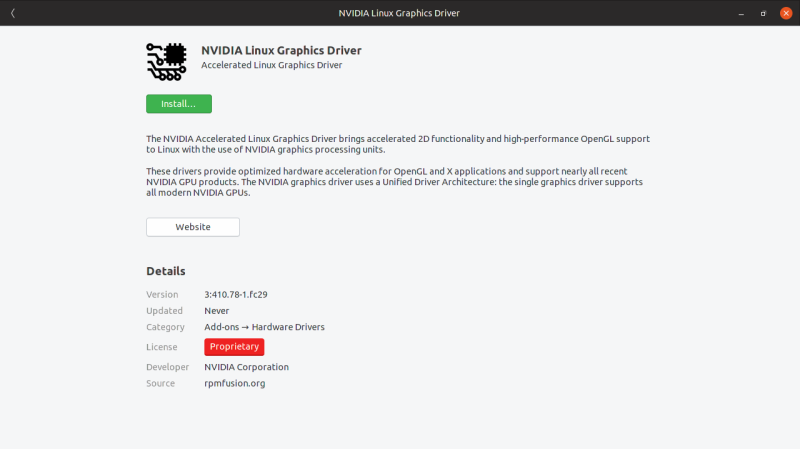 Nvidia Drivers System Requirements