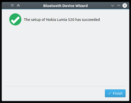 Bluetooth, paired